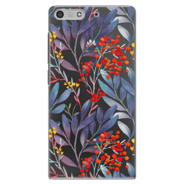 Plastové puzdro iSaprio - Rowanberry - Huawei Ascend P7 Mini