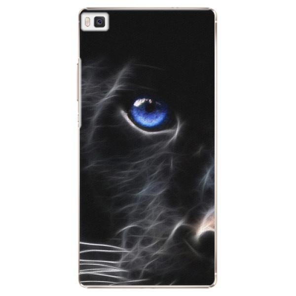 Plastové puzdro iSaprio - Black Puma - Huawei Ascend P8