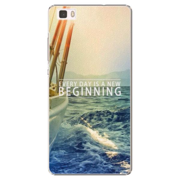 Plastové puzdro iSaprio - Beginning - Huawei Ascend P8 Lite
