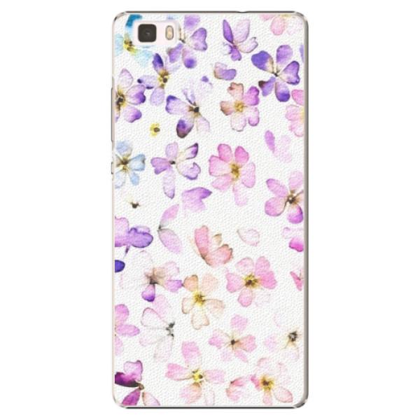 Plastové puzdro iSaprio - Wildflowers - Huawei Ascend P8 Lite