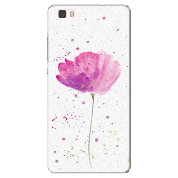 Plastové puzdro iSaprio - Poppies - Huawei Ascend P8 Lite
