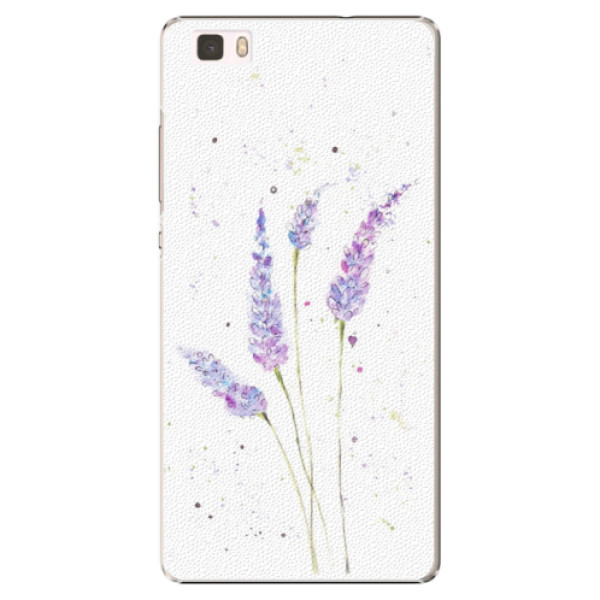 Plastové puzdro iSaprio - Lavender - Huawei Ascend P8 Lite