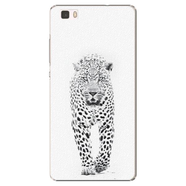 Plastové puzdro iSaprio - White Jaguar - Huawei Ascend P8 Lite
