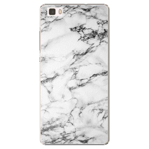 Plastové puzdro iSaprio - White Marble 01 - Huawei Ascend P8 Lite