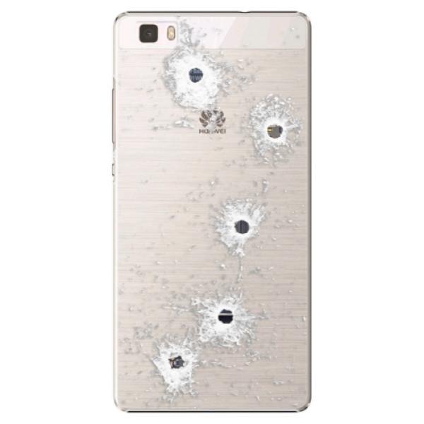 Plastové puzdro iSaprio - Gunshots - Huawei Ascend P8 Lite