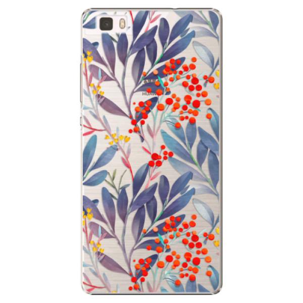 Plastové puzdro iSaprio - Rowanberry - Huawei Ascend P8 Lite