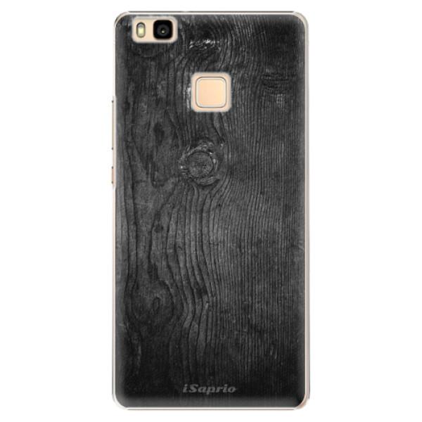 Plastové puzdro iSaprio - Black Wood 13 - Huawei Ascend P9 Lite