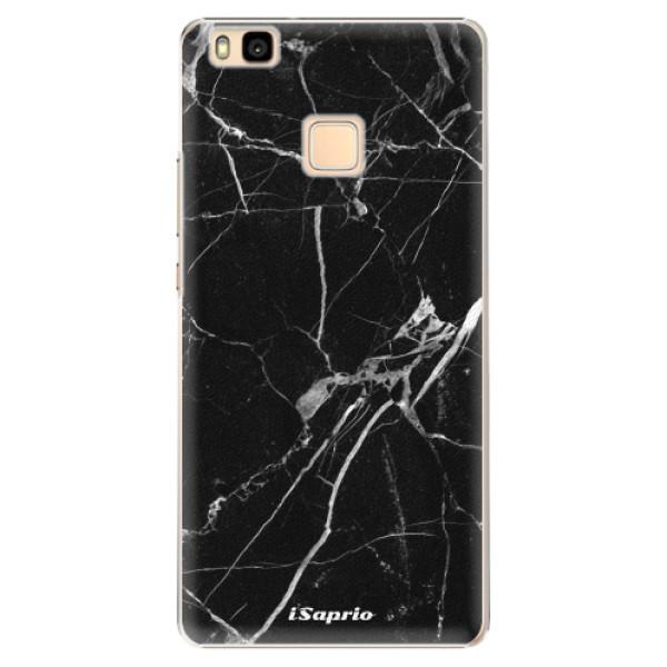Plastové puzdro iSaprio - Black Marble 18 - Huawei Ascend P9 Lite