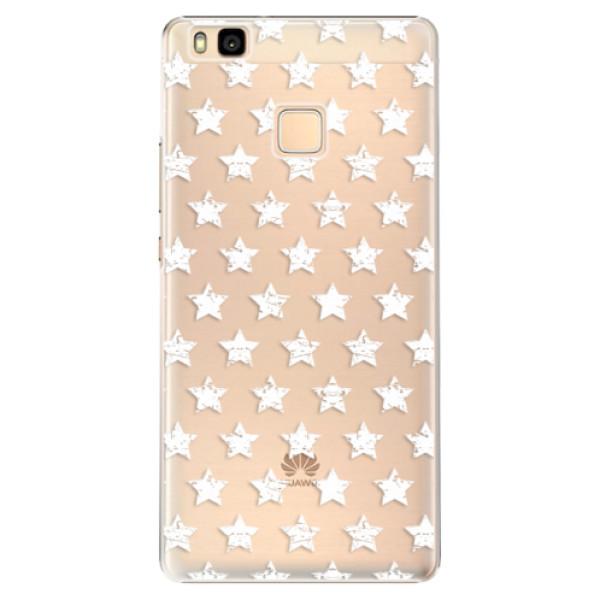 Plastové puzdro iSaprio - Stars Pattern - white - Huawei Ascend P9 Lite