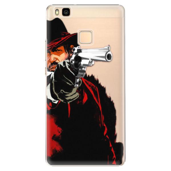 Plastové puzdro iSaprio - Red Sheriff - Huawei Ascend P9 Lite
