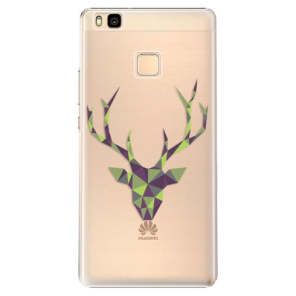 Plastové puzdro iSaprio - Deer Green - Huawei Ascend P9 Lite