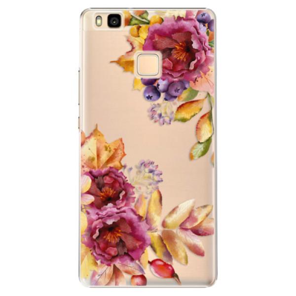 Plastové puzdro iSaprio - Fall Flowers - Huawei Ascend P9 Lite