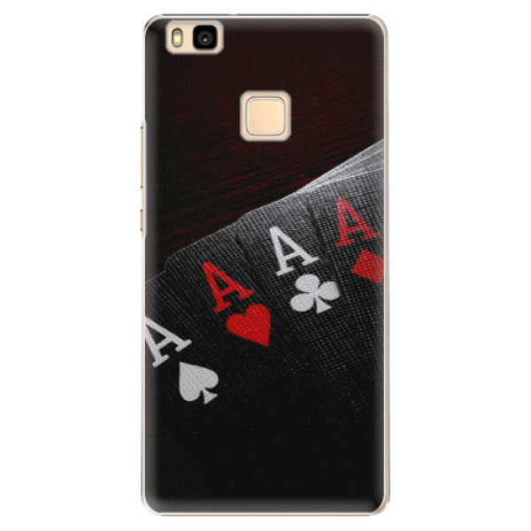 Plastové puzdro iSaprio - Poker - Huawei Ascend P9 Lite