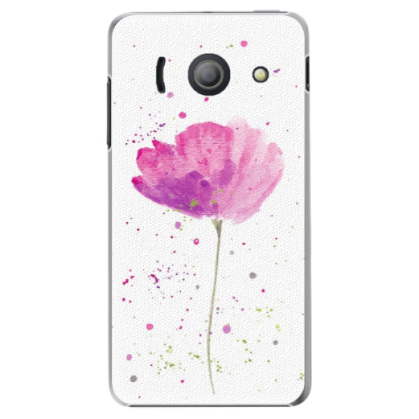 Plastové puzdro iSaprio - Poppies - Huawei Ascend Y300