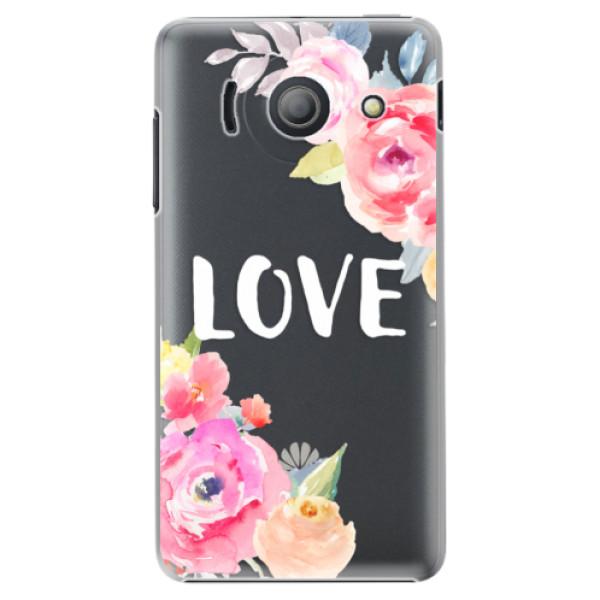 Plastové puzdro iSaprio - Love - Huawei Ascend Y300
