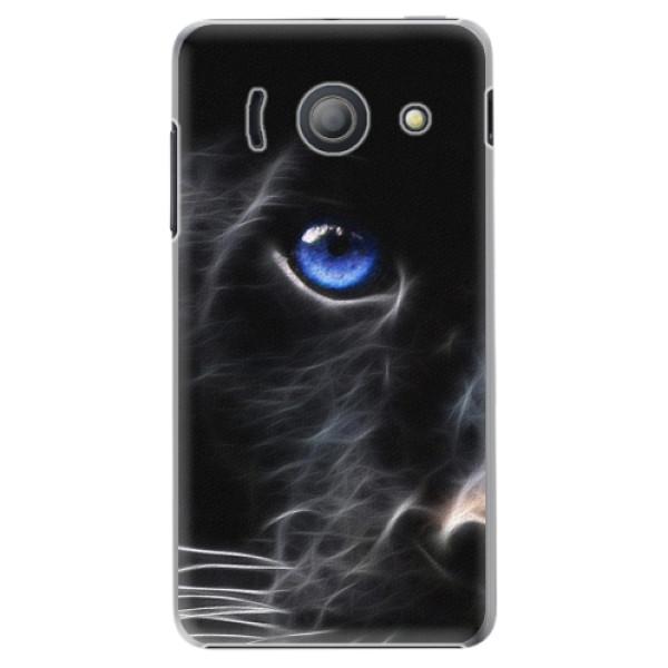Plastové puzdro iSaprio - Black Puma - Huawei Ascend Y300