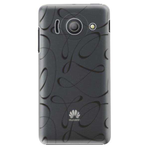 Plastové puzdro iSaprio - Fancy - black - Huawei Ascend Y300
