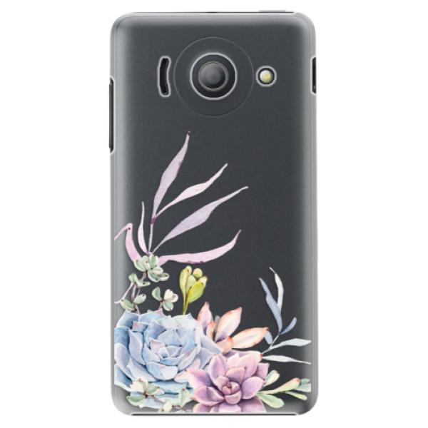 Plastové puzdro iSaprio - Succulent 01 - Huawei Ascend Y300