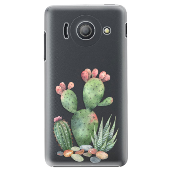 Plastové puzdro iSaprio - Cacti 01 - Huawei Ascend Y300