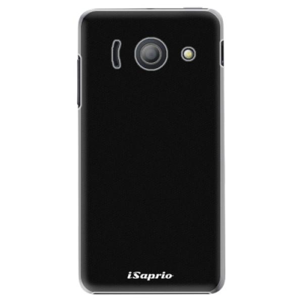 Plastové puzdro iSaprio - 4Pure - černý - Huawei Ascend Y300