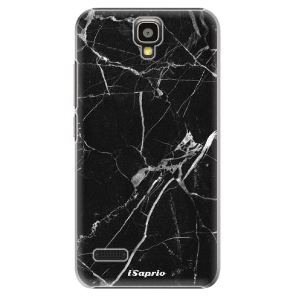 Plastové puzdro iSaprio - Black Marble 18 - Huawei Ascend Y5