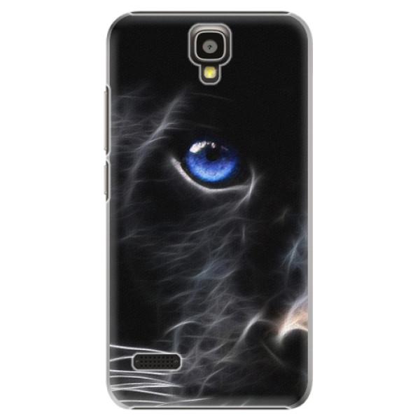 Plastové puzdro iSaprio - Black Puma - Huawei Ascend Y5