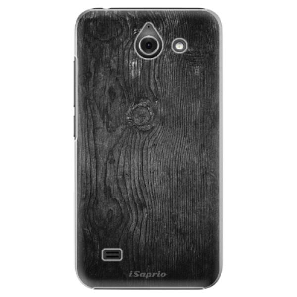 Plastové puzdro iSaprio - Black Wood 13 - Huawei Ascend Y550