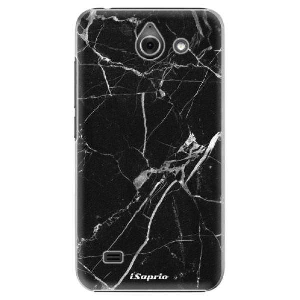 Plastové puzdro iSaprio - Black Marble 18 - Huawei Ascend Y550