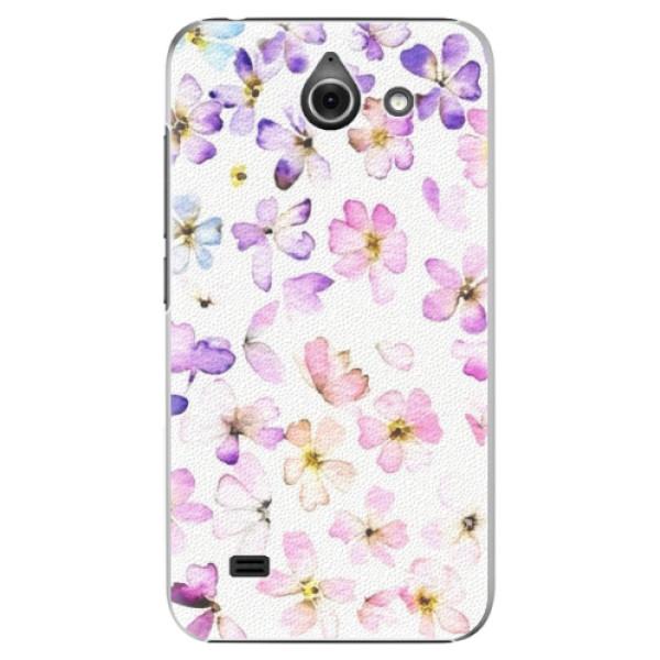 Plastové puzdro iSaprio - Wildflowers - Huawei Ascend Y550