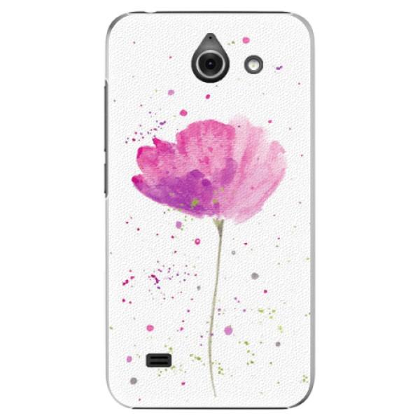 Plastové puzdro iSaprio - Poppies - Huawei Ascend Y550
