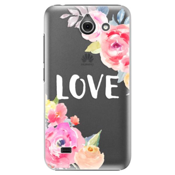 Plastové puzdro iSaprio - Love - Huawei Ascend Y550