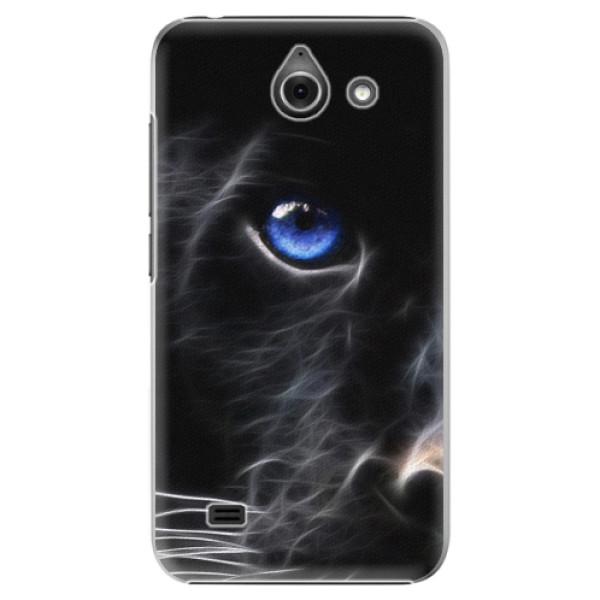 Plastové puzdro iSaprio - Black Puma - Huawei Ascend Y550