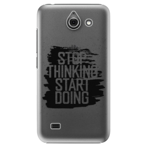 Plastové puzdro iSaprio - Start Doing - black - Huawei Ascend Y550