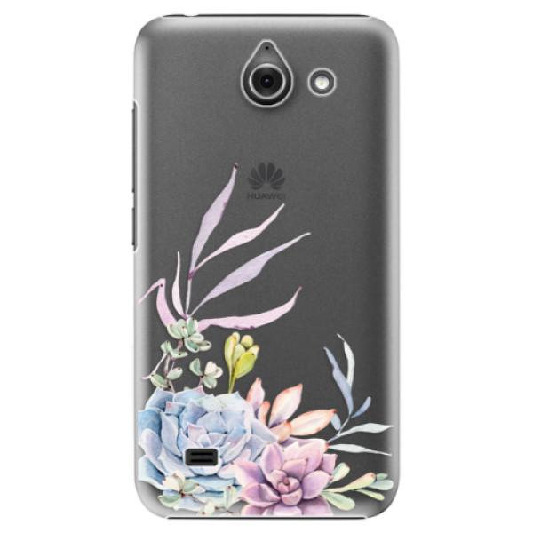Plastové puzdro iSaprio - Succulent 01 - Huawei Ascend Y550
