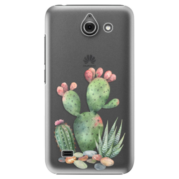 Plastové puzdro iSaprio - Cacti 01 - Huawei Ascend Y550