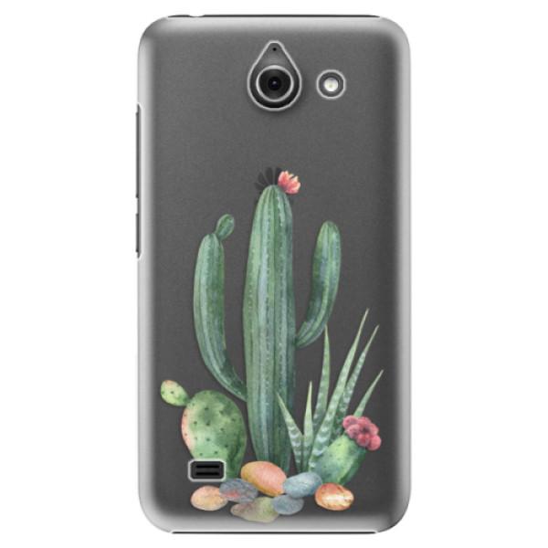 Plastové puzdro iSaprio - Cacti 02 - Huawei Ascend Y550