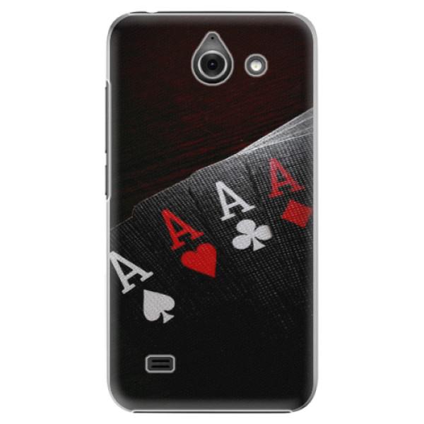 Plastové puzdro iSaprio - Poker - Huawei Ascend Y550
