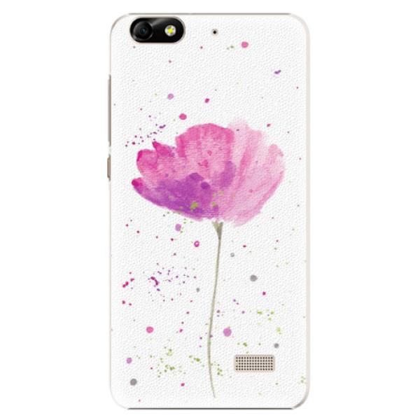 Plastové puzdro iSaprio - Poppies - Huawei Honor 4C