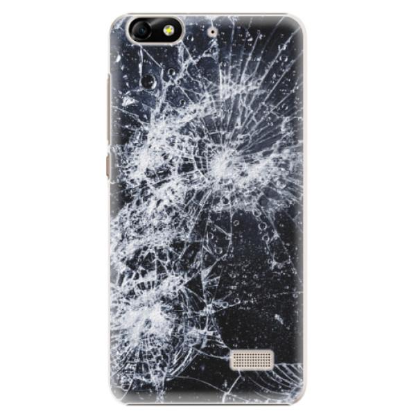 Plastové puzdro iSaprio - Cracked - Huawei Honor 4C