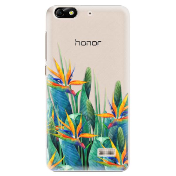 Plastové puzdro iSaprio - Exotic Flowers - Huawei Honor 4C
