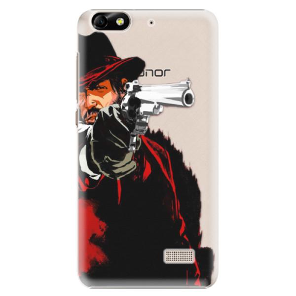Plastové puzdro iSaprio - Red Sheriff - Huawei Honor 4C