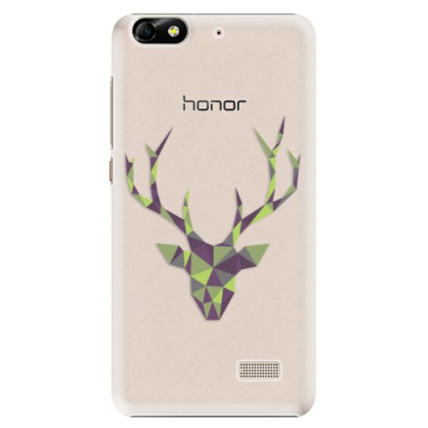 Plastové puzdro iSaprio - Deer Green - Huawei Honor 4C