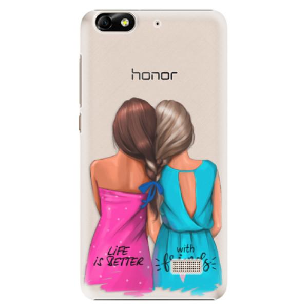 Plastové puzdro iSaprio - Best Friends - Huawei Honor 4C