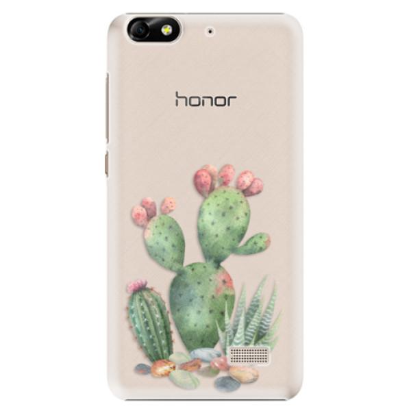 Plastové puzdro iSaprio - Cacti 01 - Huawei Honor 4C