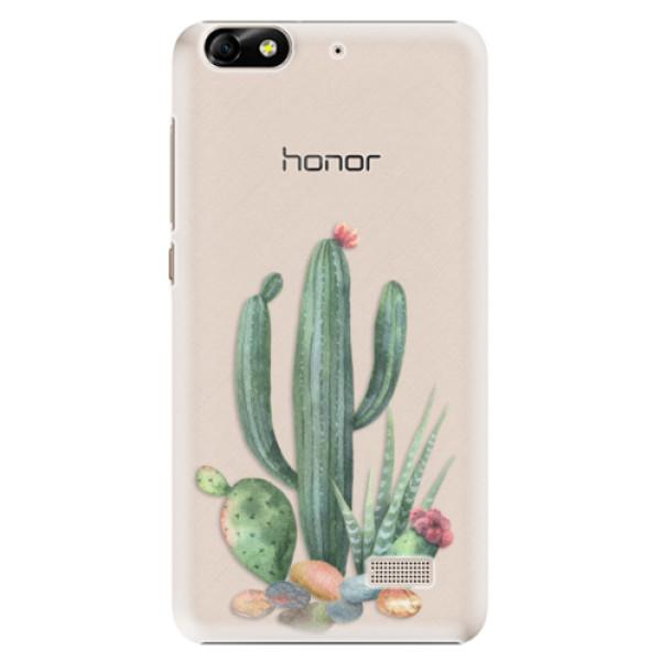 Plastové puzdro iSaprio - Cacti 02 - Huawei Honor 4C