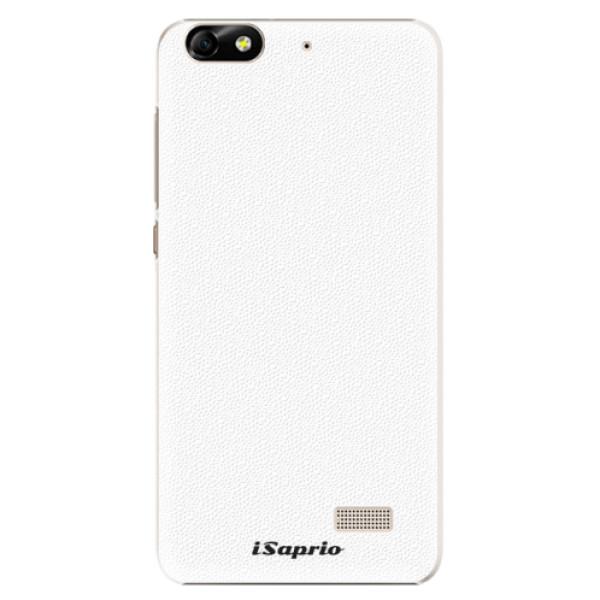 Plastové puzdro iSaprio - 4Pure - bílý - Huawei Honor 4C