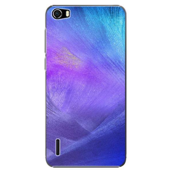 Plastové puzdro iSaprio - Purple Feathers - Huawei Honor 6