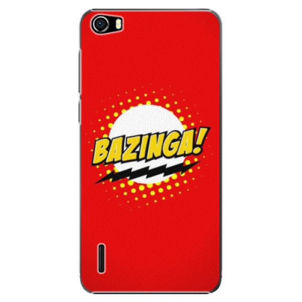 Plastové puzdro iSaprio - Bazinga 01 - Huawei Honor 6