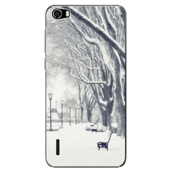 Plastové puzdro iSaprio - Snow Park - Huawei Honor 6