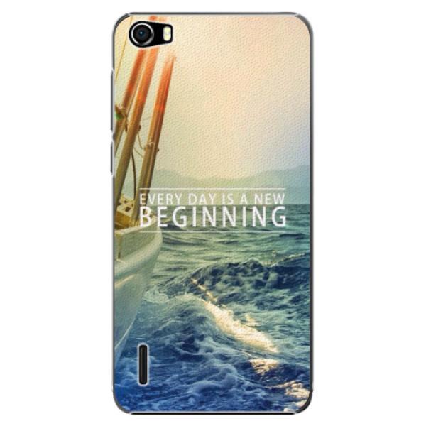 Plastové puzdro iSaprio - Beginning - Huawei Honor 6